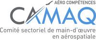 Logo : Comité sectoriel de main-d'oeuvre en aérospatiale du Québec (Groupe CNW/CAMAQ)
