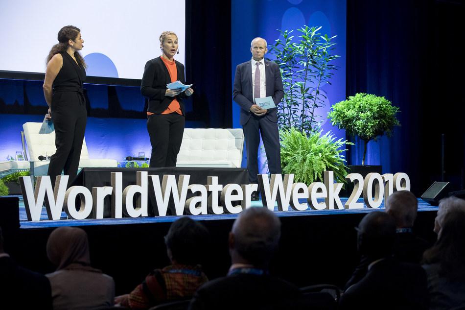 World Water Week 2019 (PRNewsfoto/Stockholm International Water I)