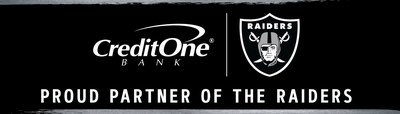Credit One Bank Sponsors The Raiders