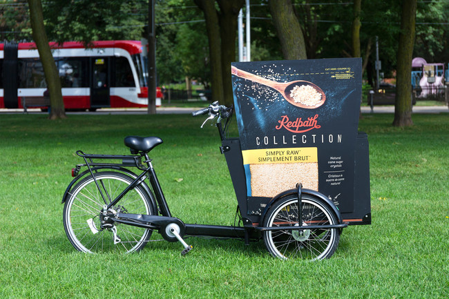 Look out for the Redpath Collection Bikes around Toronto during the month of September! (CNW Group/Redpath Sugar)