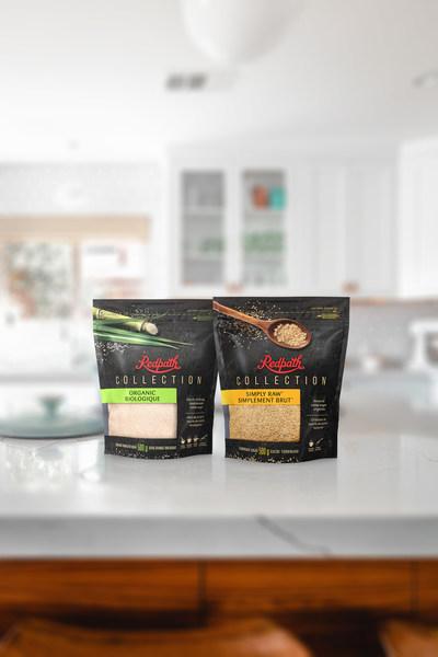Redpath® lance sa nouvelle gamme de produits avec deux sucres de première qualité: le Sucre Turbinado Simplement Brut™ et le Sucre Granulé Biologique. (Groupe CNW/Redpath Sugar)