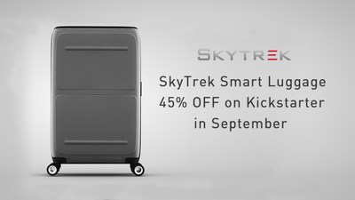 R-Guardian Announces Their 'SkyTrek Smart Luggage' Will Launch on Kickstarter in September