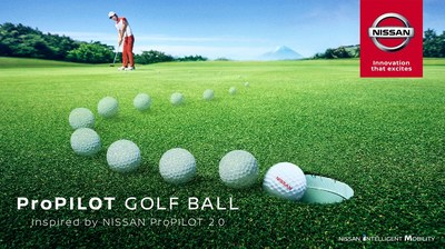 Pelota de Golf ProPilot (PRNewsfoto/Nissan Motor Co., Ltd.)