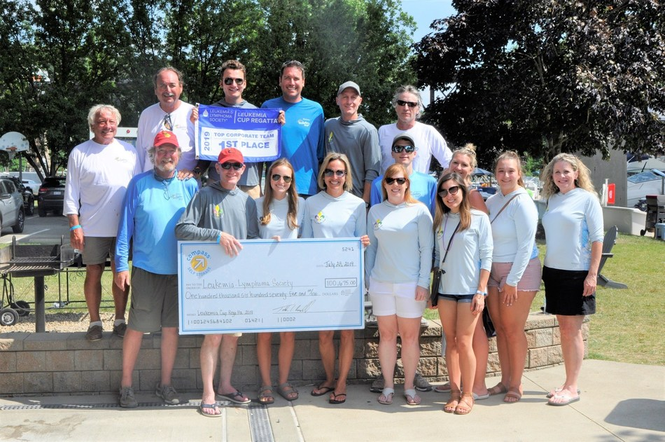 Compass Self Storage raises over $100,000 in donations to benefit The Leukemia & Lymphoma Society.