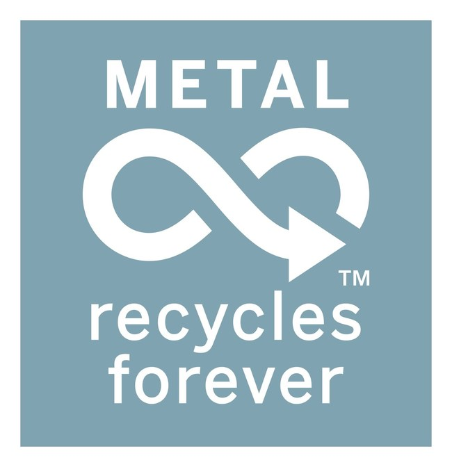 Metal Recycles Forever Mark