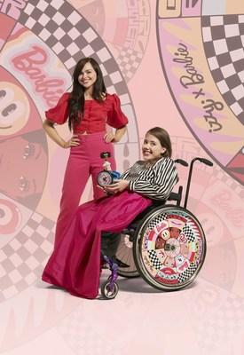 Barbie x Izzy Wheels by Hattie Stewart