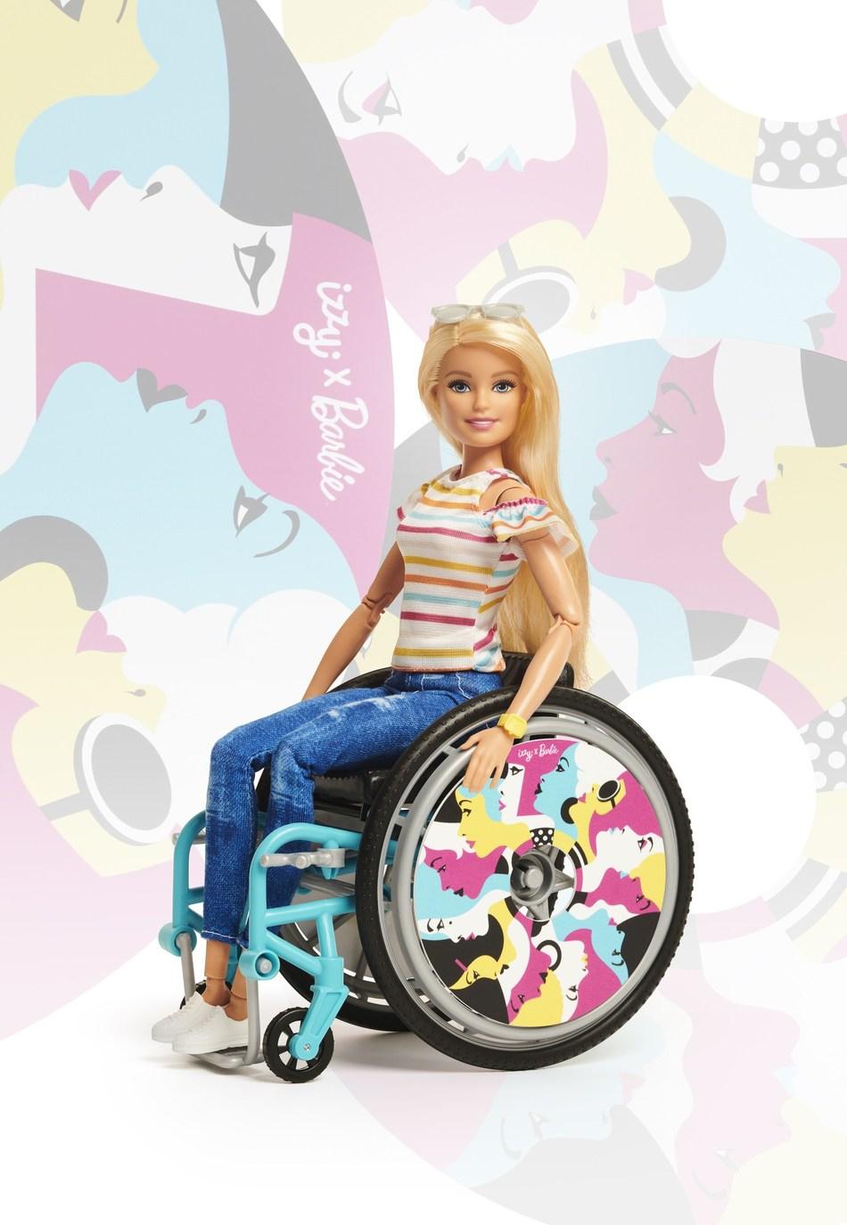 Barbie x Izzy Wheels by Malika Favre design Doll