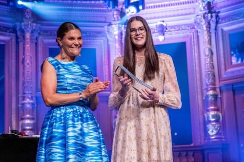 Macinley Butson from Australia wins Stockholm Junior Water Prize 2019