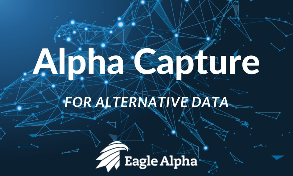 Eagle Alpha Launches World's First Alpha Capture for Alternative Datasets (PRNewsfoto/Eagle Alpha)