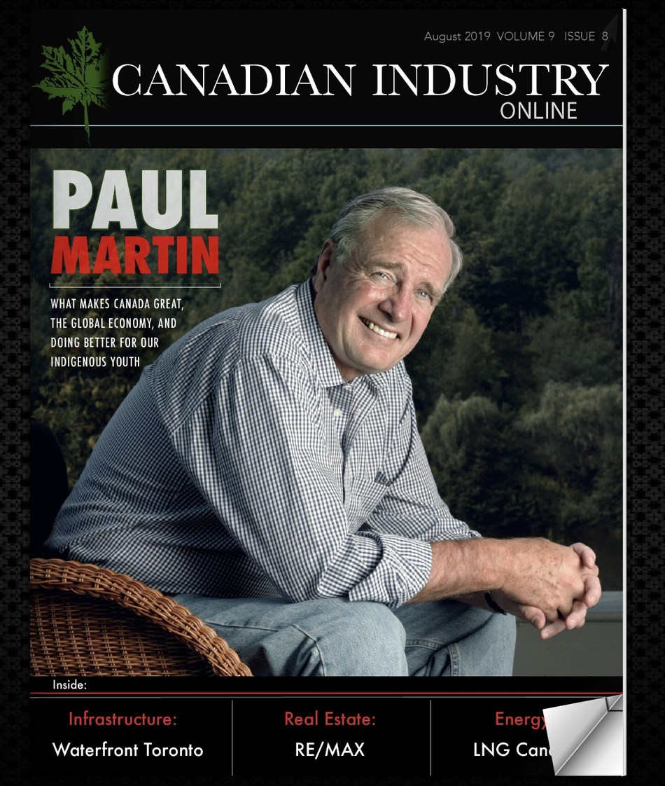 Sara Kopamees interviews The Right Honourable Paul Martin (CNW Group/Industry Media)