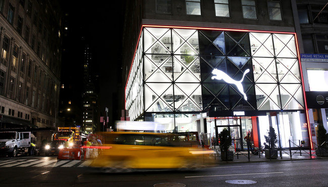 PUMA'S new NYC flagship store seamlessly integrates technology, art, and music for a one-of-a-kind retail experience