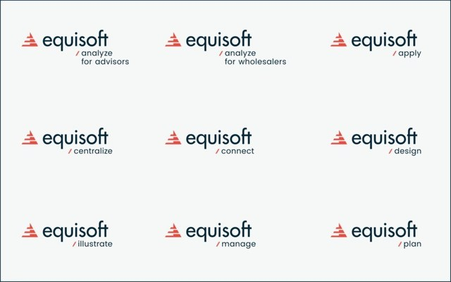 Equisoft's end-to-end product offering presented under a unified global brand (CNW Group/Equisoft Inc.)
