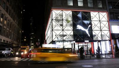 Nova loja conceito da PUMA na Cidade de Nova York integra perfeitamente tecnologia, arte e música para uma experiência inigualável de varejo