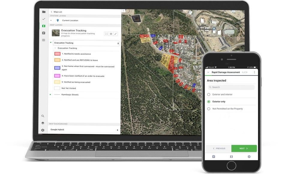 With approximately 8,000 wildfires and 4,000 earthquakes each year in Canada, technology is becoming a necessary game changer. IBM and BC-based start-up Lightship Works are using AI with IBM Watson on the IBM Cloud to transform how emergency first responders can react to disasters and other critical incidents (CNW Group/IBM Canada Ltd.)