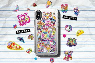 CASETiFY and Lisa Frank Team Up for a Nostalgic, Back-to-School Tech Accessory Collection