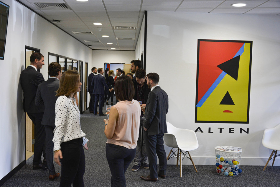 Photo Inauguration of ALTEN's new premises in Derby