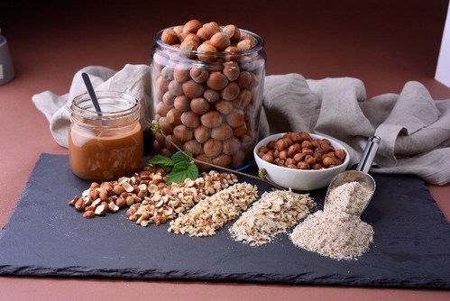 Food industry recognizing hazelnuts as a trending ingredient in packaged goods