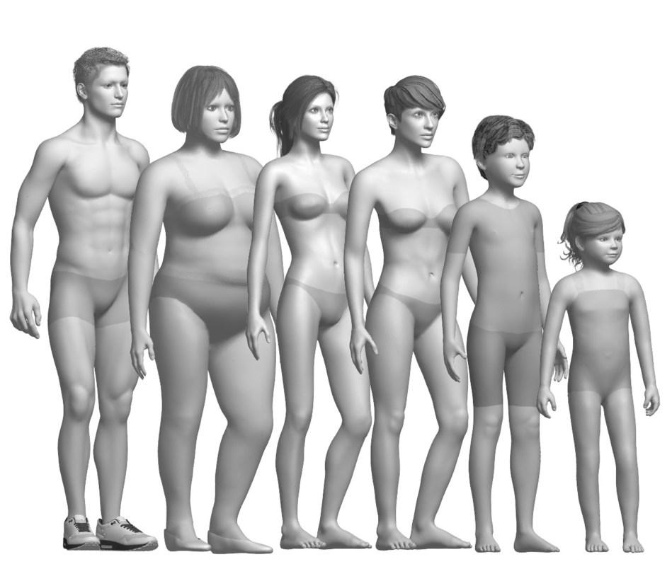 TUKA3D Virtual Fit Models by Tukatech