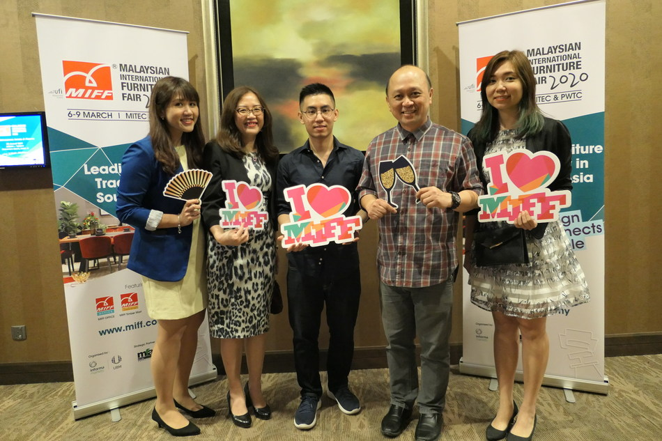 Photo with MIFF 2020 Exhibitor - CLS FURNITURE SDN BHD