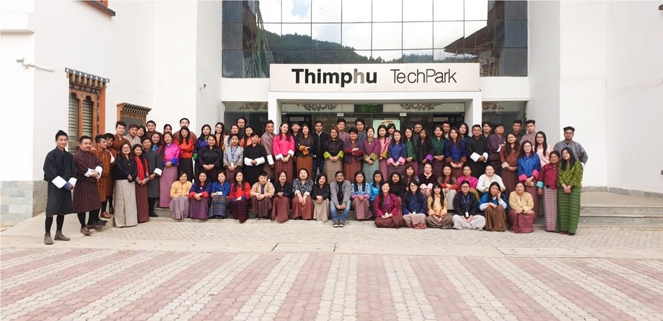 iMerit's Bhutan team - iMerit provides Machine Learning data services to customers worldwide