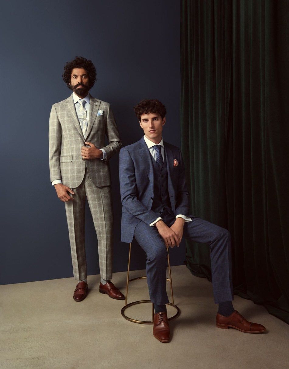 Hawes & Curtis AW19 Collection (PRNewsfoto/Hawes & Curtis)