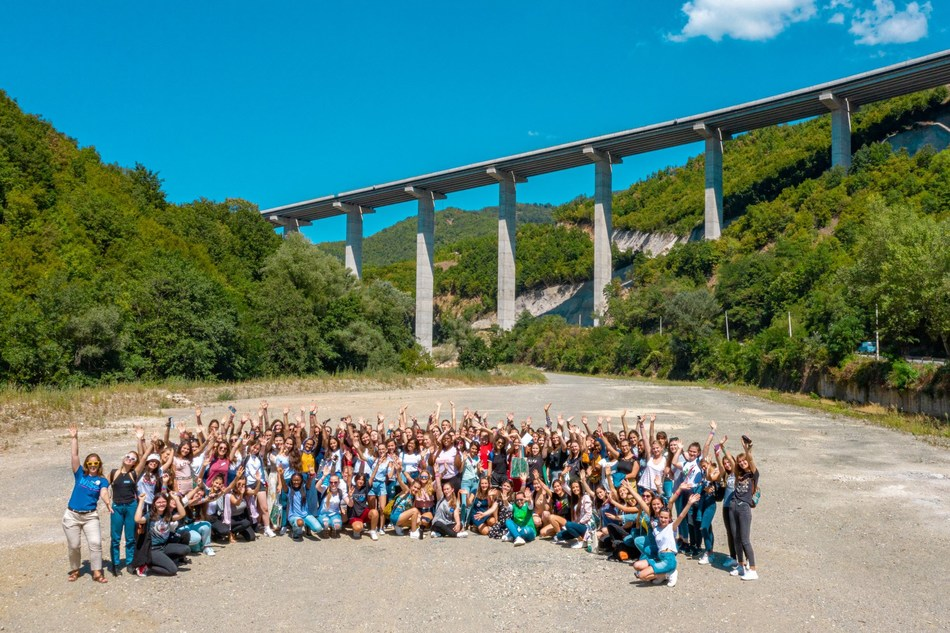 Bechtel partners with Girl Up to host first-ever STEAM summer camp in the Balkans.