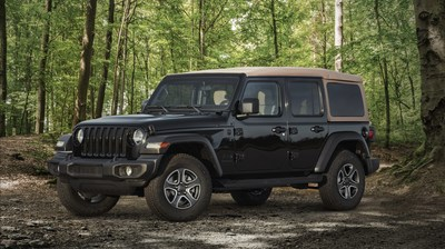 Jeep® introduces new 2020 Wrangler Black & Tan edition