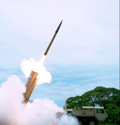 Lockheed Martin's THAAD System made history by using remote launch capability to successfully detect, track and intercept a threat representative target. Photo by Missile Defense Agency.
