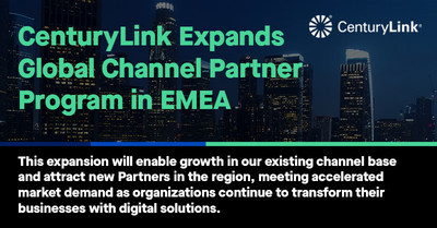 CenturyLink enhances channel support and resources in EMEA