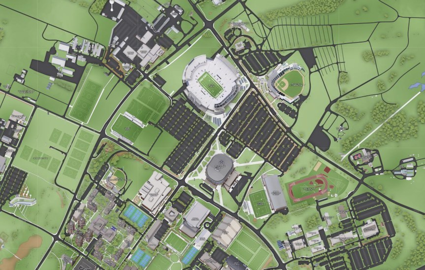 map of psu campus Concept3d Platform Selected By Penn State For System Wide map of psu campus