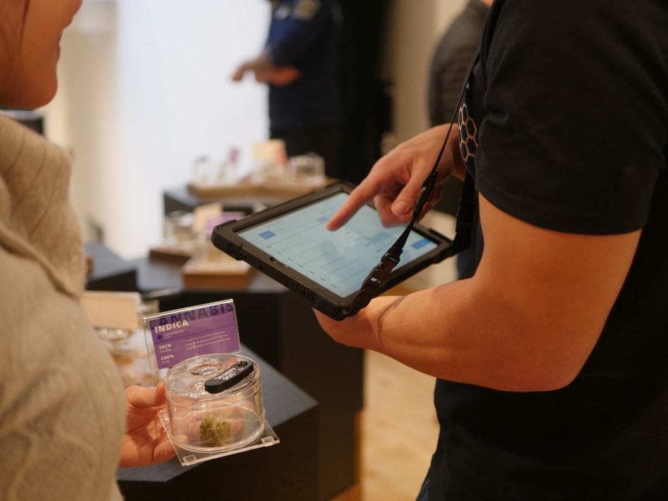 Cova's point of sale is tailor-made for the industry, built on years of technical experience and fine-tuned to meet the unique needs of cannabis retailers in Canada. (CNW Group/Cova Software)