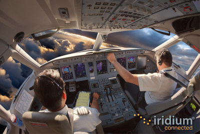 Iridium Certus will turbocharge the connected cockpit with state-of-the-art SATCOM for business jets, commercial airliners, rotorcraft and general aviation.