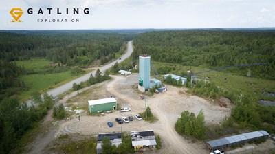 Figure 1. Aerial view of Gatling Exploration's Larder Gold Project (CNW Group/Gatling Exploration Inc.)