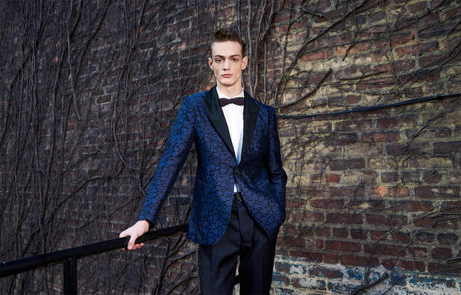 HIROMI ASAI men's collection appears on Runway during NYFW