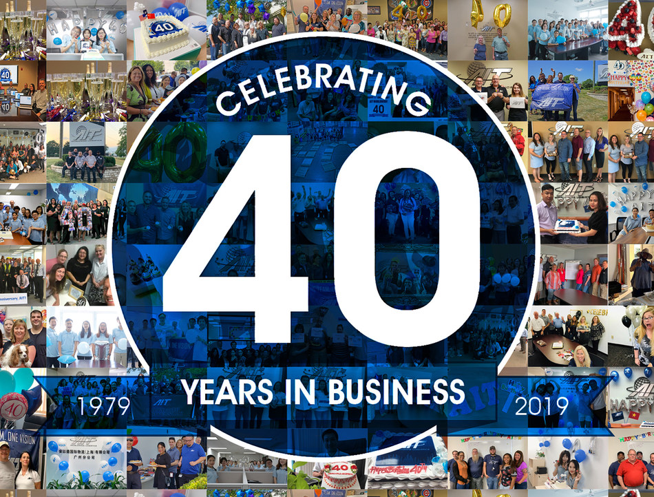 AIT Worldwide Logistics celebrates 40 years in business