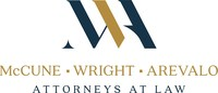 McCune Wright Arevalo, LLP Logo (PRNewsfoto/McCune Wright Arevalo, LLP)