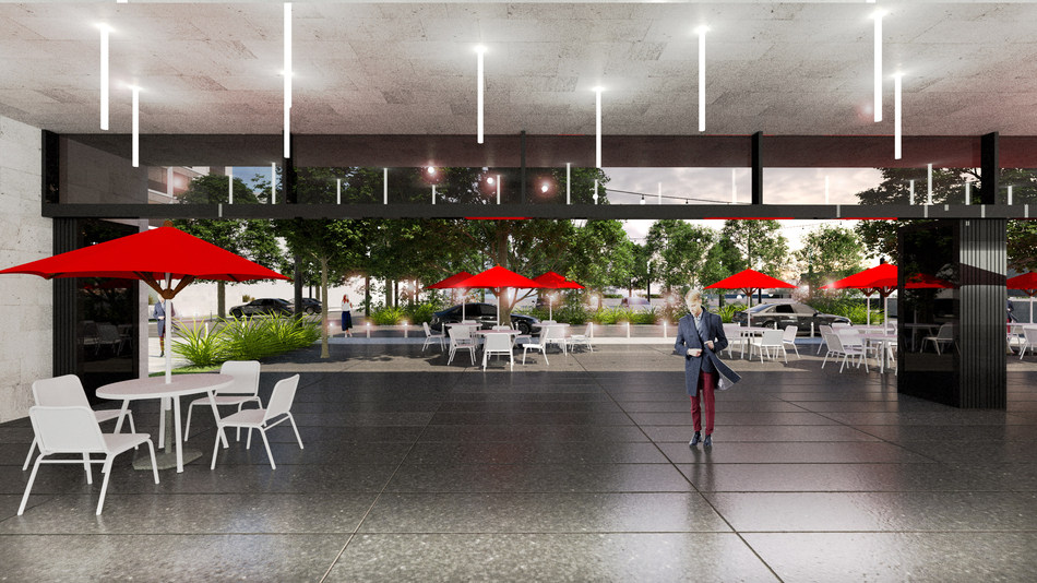 Future convention centre (CNW Group/Sheraton Laval)