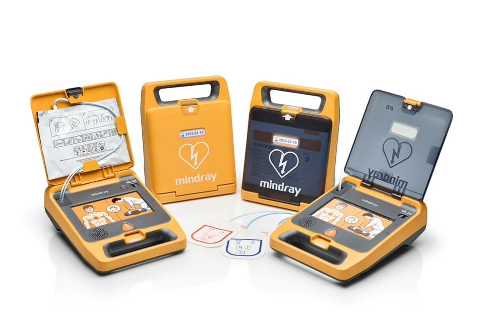 Mindray BeneHeart C Series AED helps people perform effective SCA resuscitation more confidently, with smarter operations and faster shock delivery