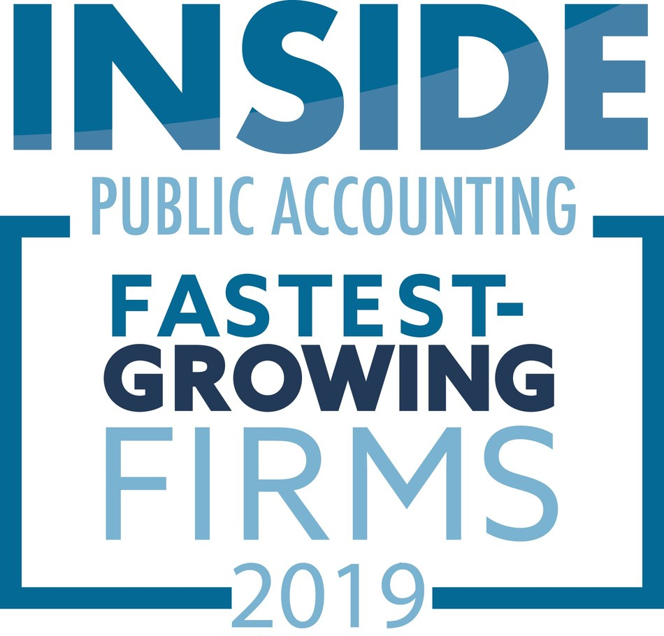 Siegfried Recognized as One of the Largest and Fastest-Growing Accounting Firms in the Country; INSIDE Public Accounting releases 2019 rankings and Siegfried is 27th largest firm
