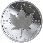 Pulsating Maple Leaf Coin Another World-First