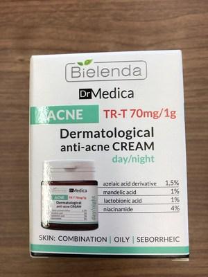 Bielenda Dr. Medica dermatological anti-acne day/night cream (CNW Group/Health Canada)