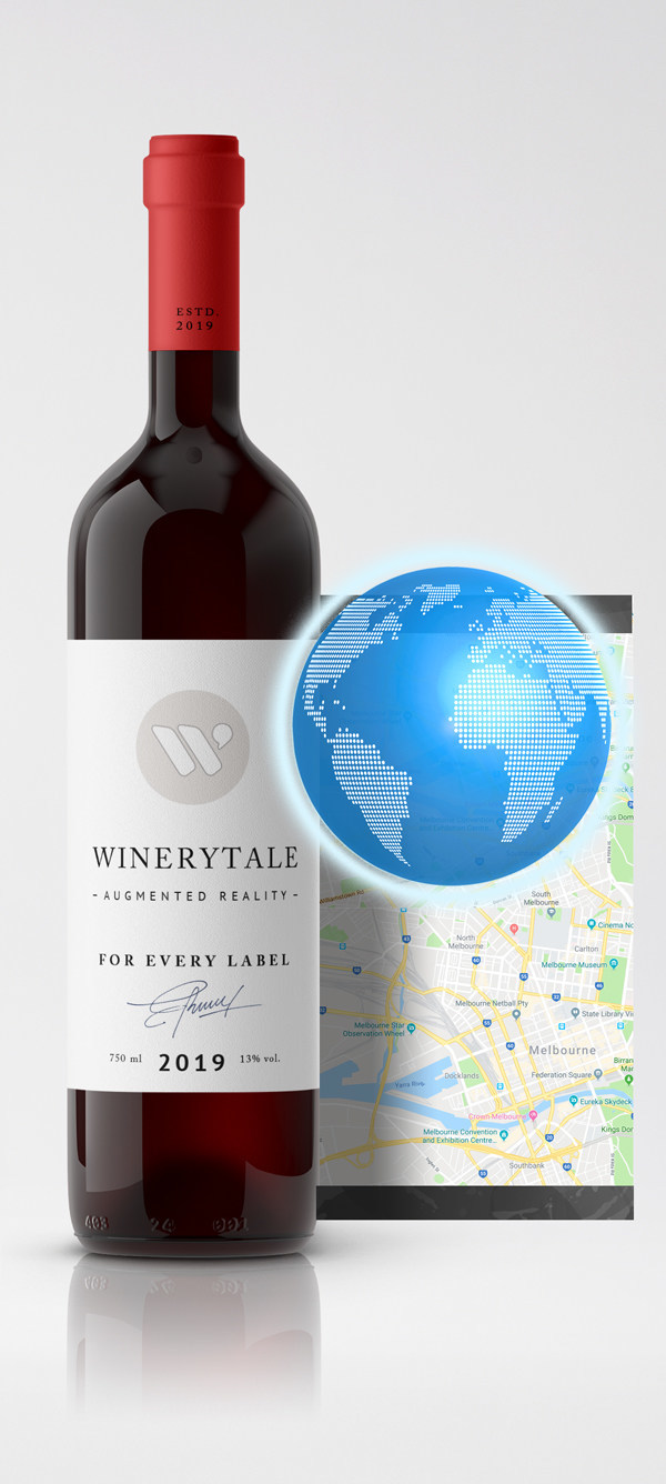 Location-aware wine. Personalized content delivered from the wine label in Augmented Reality