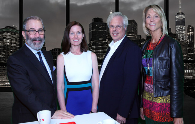 Leading marketing and integrated communications firm FINN Partners Acquires Lazar Partners, Creating One of the World's Largest Independent Health PR Practices. Pictured (L to R) are Gil Bashe, Managing Partner leading FINN's Global Health Practice; Kristie Kuhl, Managing Partner, FINN Health; Peter Finn, Founding Partner, FINN Partners; and Fern Lazar, CEO, Lazar Partners.