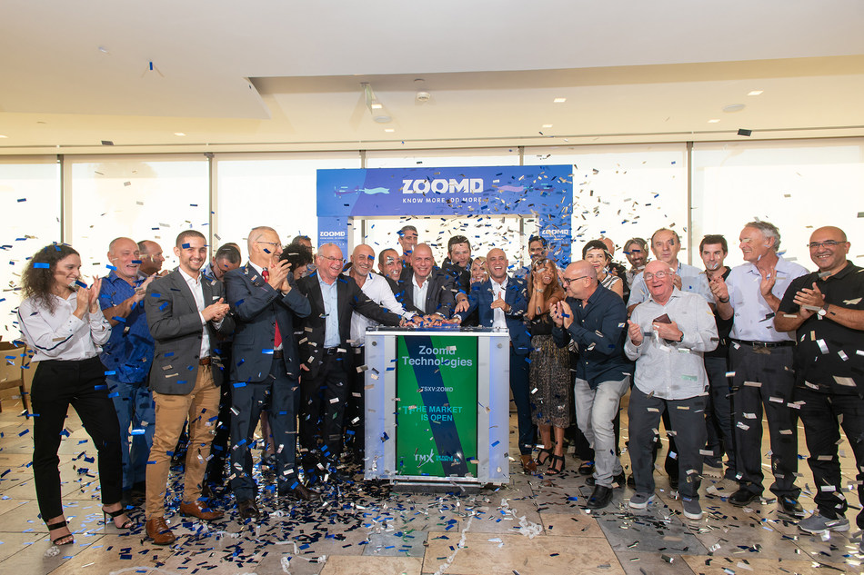 Zoomd Technologies Ltd. Opens the Market (CNW Group/TMX Group Limited)