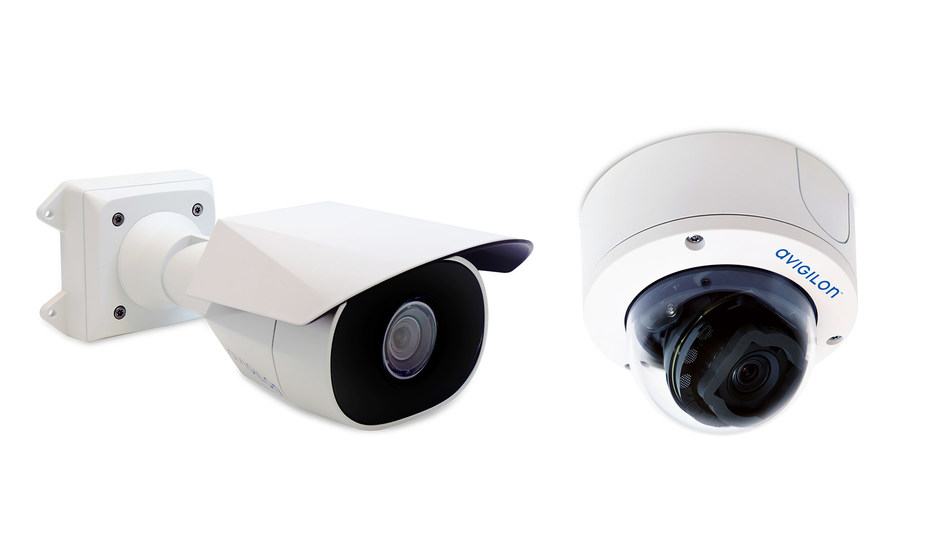 As one of Avigilon's easiest-to-install cameras, the H5SL provides a simple, flexible and cost-effective security solution. (CNW Group/Avigilon Corporation)