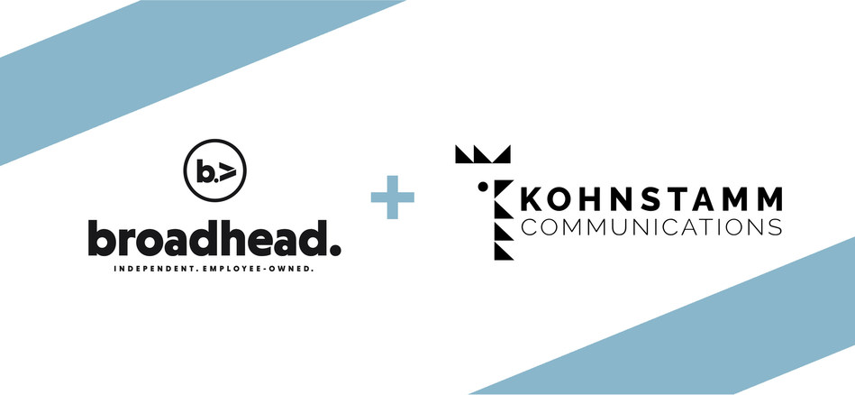 Minneapolis full service, independent marketing agency broadhead announces its acquisition of Kohnstamm Communications, a leading food public relations agency.