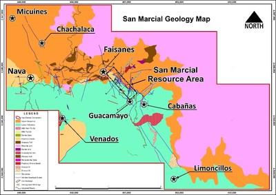 Figure 1: San Marcial Project – Location of T-002 Tunnel at Faisanes Target (CNW Group/Goldplay Exploration Ltd)