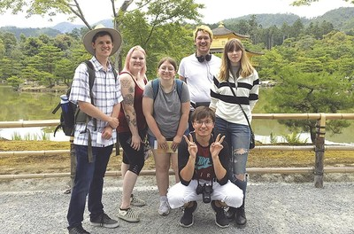 Murray State University students travel to Japan for cultural immersion and continued studies. Sekisui Specialty Chemicals has sponsored this scholarship for the past 8 years, benefitting 32 students thus far. (PRNewsFoto/Sekisui Specialty Chemicals)