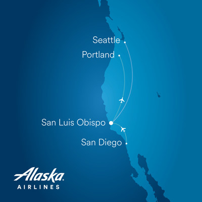 Alaska Airlines announces new service from San Luis Obispo