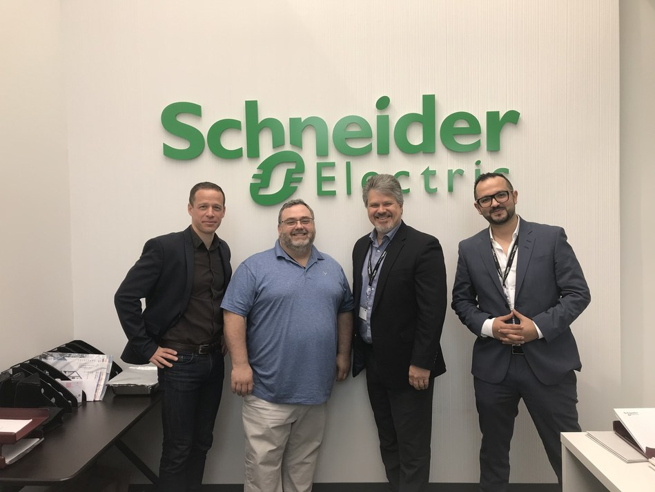 Meglab joins Schneider Electric Canada's Ready to Customize program. (CNW Group/Schneider Electric Canada Inc.)